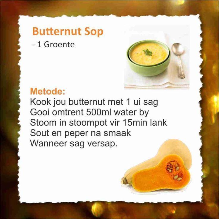 28 Dae Dieet | Butternut Sop - 1 veggie | Dag 10