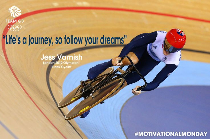 Jess Varnish has been storming to victory on the track, but what keeps her going? The journey... #MotivationalMonday
