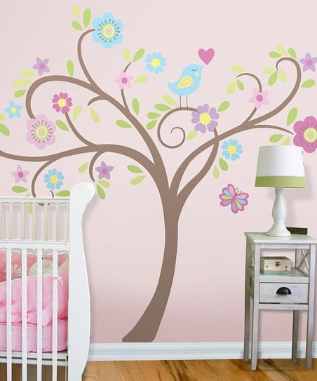 Tweet Tweet Tree Wall Decal Set