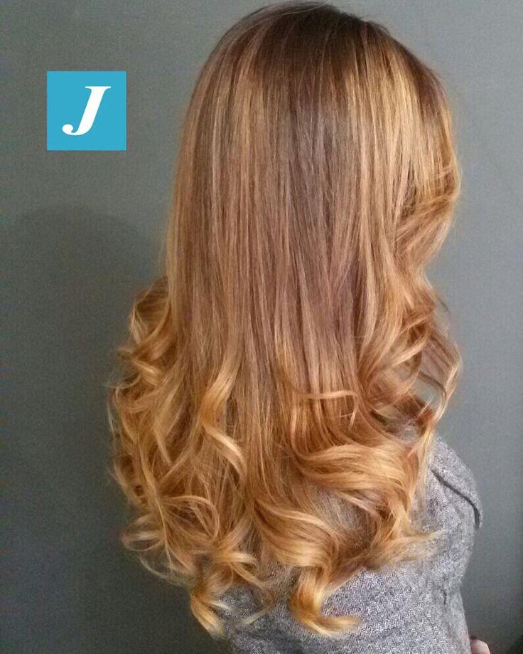 Biondo|rame _ Degradé Joelle  #cdj #degradejoelle #tagliopuntearia #degradé #igers #musthave #hair #hairstyle #haircolour #longhair #ootd #hairfashion #madeinitaly