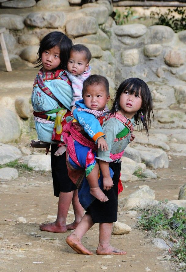 children upon children