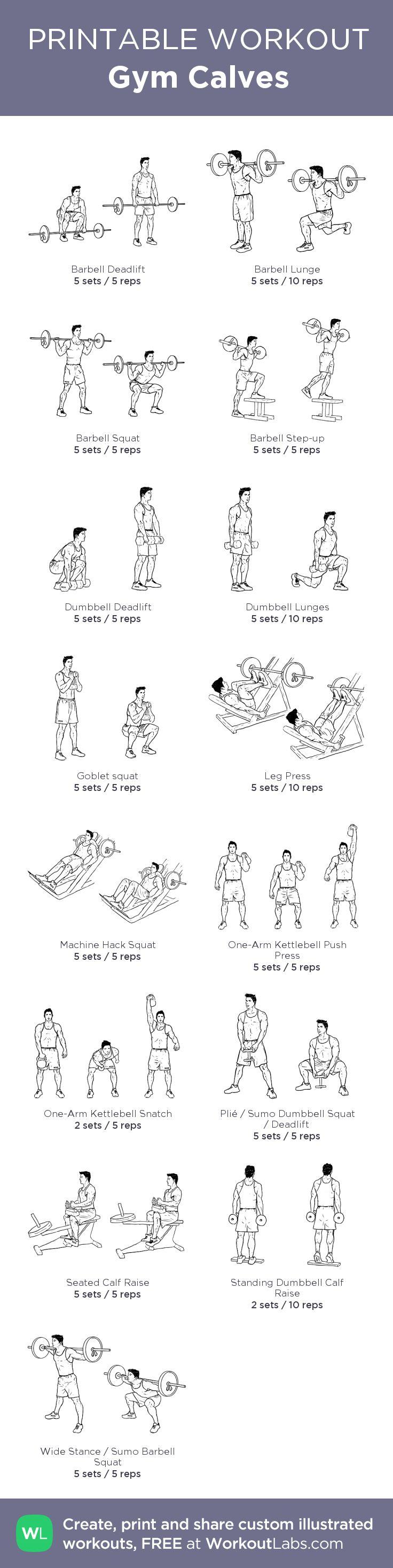 Gym Calves