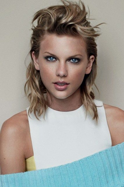 Val Garland explains how she created Taylor Swift's make-up look for November Vogue, plus are those freckles real or not?