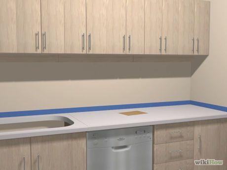 Imagen titulada Paint Formica Countertops Step 6