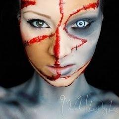 7 best 3d and 2d cuts images on Pinterest | Halloween makeup, Fx ...