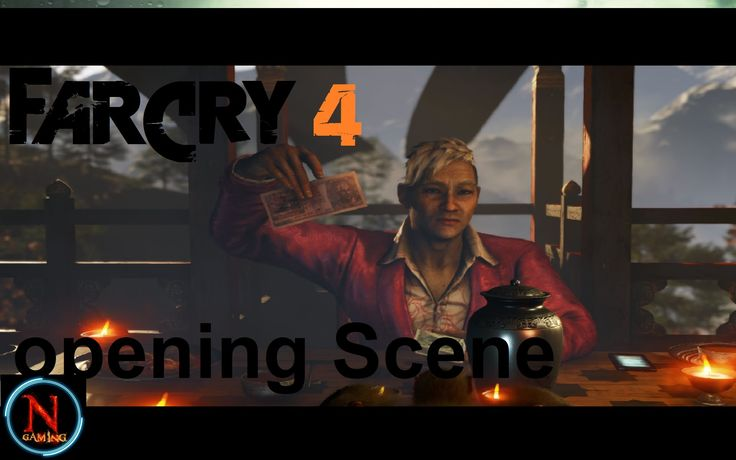 Far Cry 4 Part 1 Opening Scene