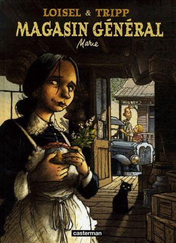 Magasin généal (BD, série)  par RÉGIS LOISEL et JEAN-LOUIS TRIPP L'histoire de Marie, une jeune veuve, qui garde l'entreprise de son défunt mari dans un petit village québécois des années 20. Magnifique série!