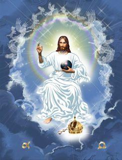 Oración a Cristo Rey. ¡Oh Cristo Jesús! Os reconozco por Rey universal. Todo lo que ha sido hecho, ha sido creado para Vos. Ejerced sobre mí todos vuestros derechos. Renuevo mis promesas del Bautismo, renunciando a Satanás, a sus pompas y a sus obras, y prometo vivir como buen cristiano. Y muy en particular me comprometo a hacer triunfar, según mis medios, los derechos de Dios y de vuestra Iglesia. ¡Divino Corazón de Jesús! Os ofrezco mis pobres acciones para que todos los corazones...
