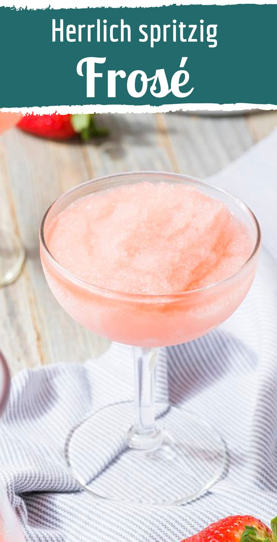 Frosé – das neue Trend-Getränk des Sommers mit…