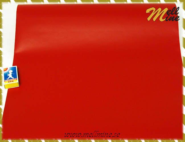 Dekorplast dcfix - röd signal (matt) - b= 43-45 cm (metervara)