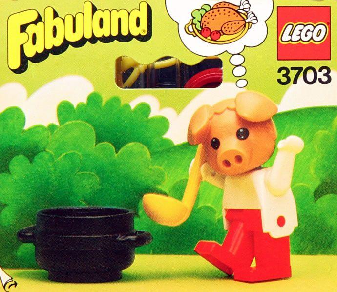 3703: Peter Pig the Cook  Fabuland, 1982