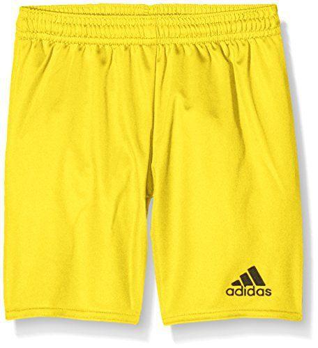 Adidas Short pour Enfant Parme 16avec slip: Slip intégré Coupe régulier Taille élastiquée avec cordon de serrage.. Tissu climalite pour…