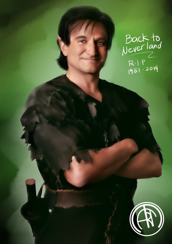 To Peter Pan! by monstars753   Peter pan, Robin williams ...
