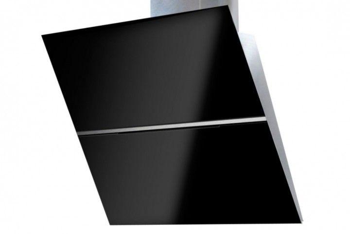 Kopffrei Dunstabzugshaube PK-04, Glas schwarz oder weiss