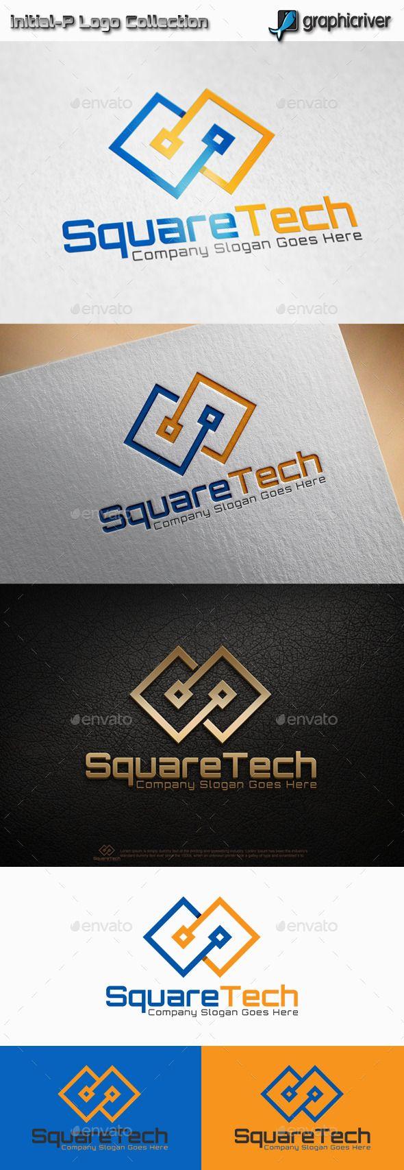 Square Tech Logo Template #design #logotype Download: http://graphicriver.net/item/square-tech-logo/11441533?ref=ksioks