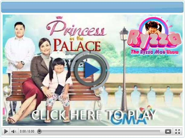Princess in the Palace - Pinoy Show Biz  Your Online Pinoy Showbiz Portal
