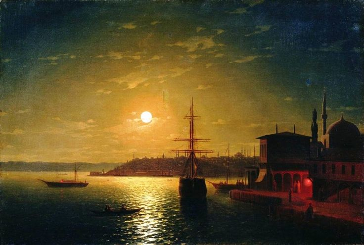 Ivan Aivazovsky The Bay Golden Horn, 1845