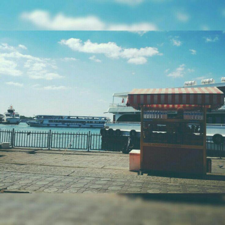 Kadıköy, İstanbul konumunda Kadıköy Sahili