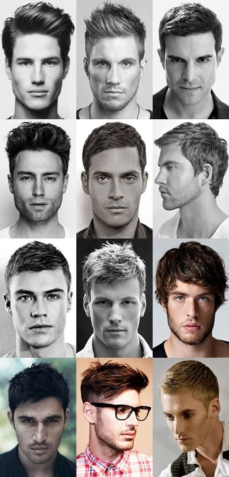 men haircuts. Some styles I can possibly try on my clients