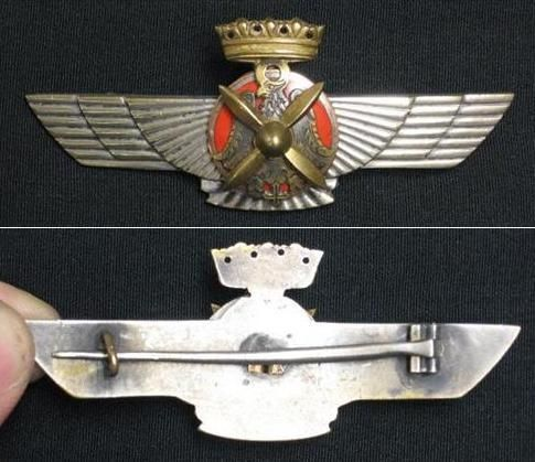 Henne's wings are indeed German made ones. The main difference to look for in period photos is the base of the crown. The star means it's a combined pilot/observer's badge whereas Henne's is a regular pilot's badge.