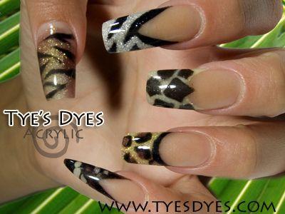 25 trending professional nail designs ideas on pinterest nail professional nail designs jungle nails tiger cheetah giraffe snake lion prinsesfo Gallery