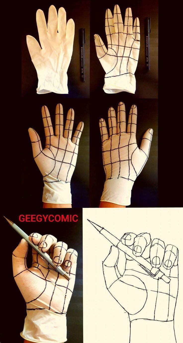 Ich werde es versuchen – Hände sind so verdammt schwer zu zeichnen !? – Designs