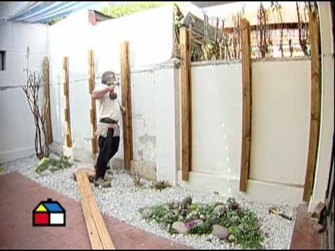 C mo construir un deck de muro lista de reproducci n - Como decorar mi jardin ...