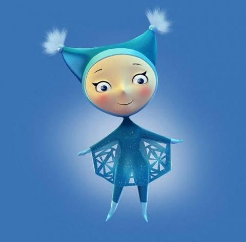 xxii olympics 2014 - Snowflake a sochi symbol