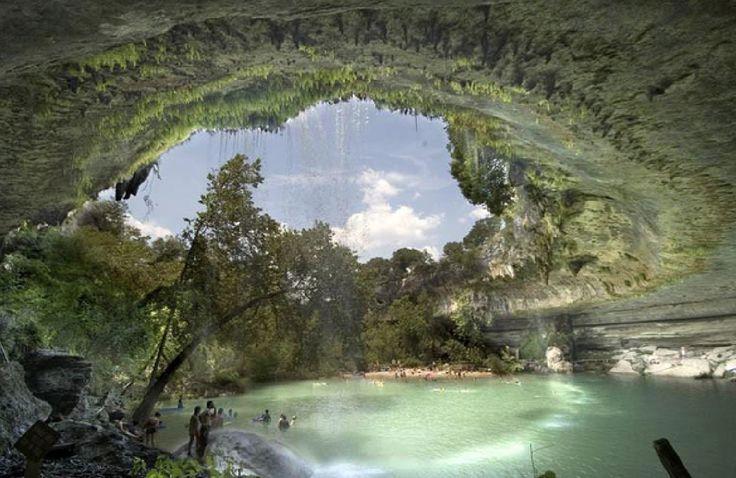 Piscina Natural,Reserva,no Texas