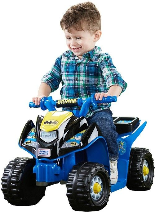 Fisher Price Power Wheels Batman Lil Quad - #batman Toys For Kids