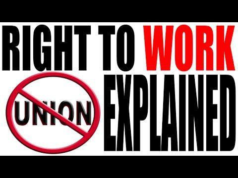 """Right to Work Laws: Lions, Tigers and Unions. Oh My! With Michigan soon to become the 25th state to adopt """"Right to Work"""" laws it about time you understood them. My Johnny Cash Teacher attempt to Walk the Line and do some explain' By: Keith Hughes."""