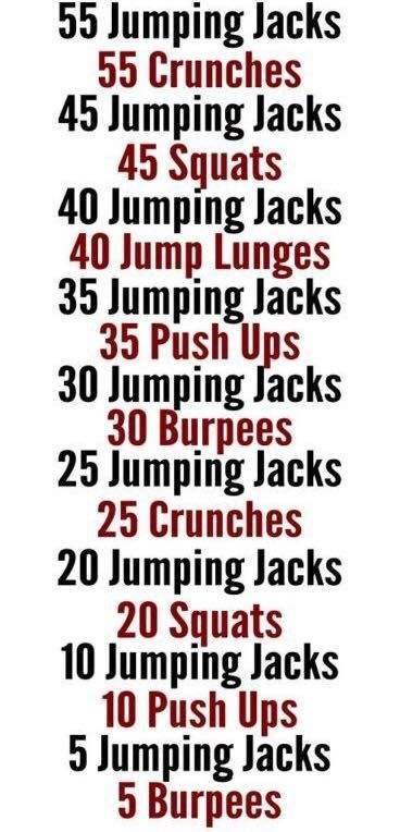 Jumping Jacks Circuit