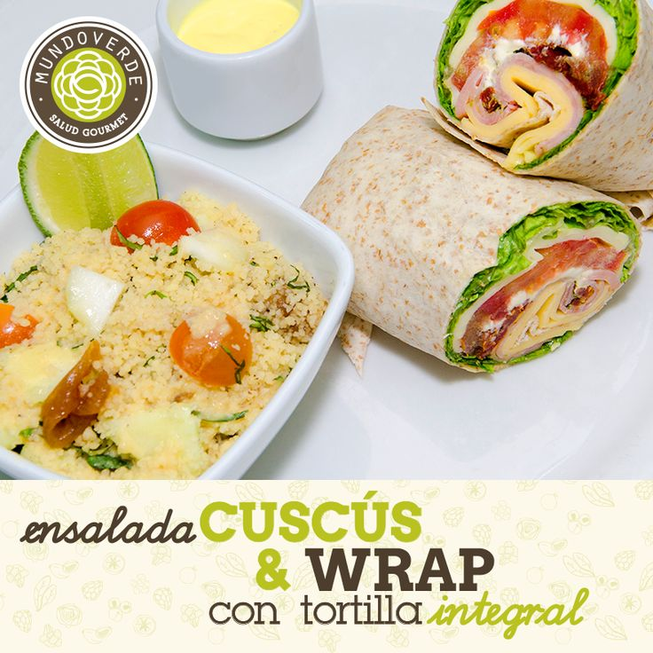 Te invitamos a disfrutar este Miércoles, de una rica y deliciosa #EnsaladaCuscusMundoVerde ¡Te esperamos! #PlatosMundoVerde