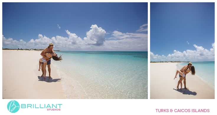 A pre-wedding boat trip in Turks and Caicos with Brilliant Studios