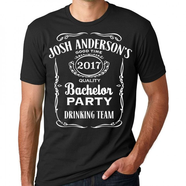 Whiskey Bachelor Party T-Shirt
