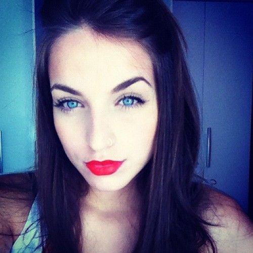 stunning eyes pink blue - photo #6