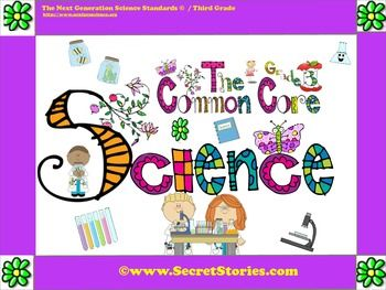 """FREE Common Core Science Posters for preK-3rd (w/ matching Social Studies posters also avail).....Follow for Free """"too-neat-not-to-keep"""" teaching tools & other fun stuff :)"""