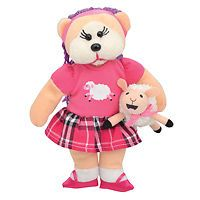 Beanie Kids - Mary and her Little Lamb Bear  - BRAND NEW