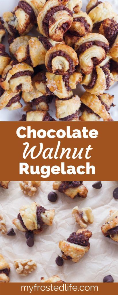 Rugelach is a traditional Jewish cookie that consists of a cream cheese or yeast dough filled with a variety of fillings. The classic rugelach filling is walnuts and cinnamon. I greatly prefer rugelach made with a cream cheese dough as it is very flaky and tender, almost like pie crust. As a lifelong chocoholic, I… Continue reading →