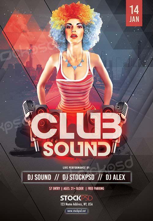 Club Sound Night Free PSD Flyer Template - http://freepsdflyer.com/club-sound-night-free-psd-flyer-template/ Enjoy downloading the Club Sound Night Free PSD Flyer Template created by Stockpsd! #Club, #Concert, #Dance, #Dj, #EDM, #Electro, #Gig, #Live, #Music, #Nightclub, #Party, #Sound