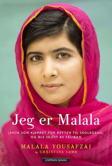 I oktober 2012 stoppet menn fra Taliban en buss med pakistanske skoleelever i Swatdalen: - Hvem av dere er Malala? Malala ble skutt i hodet, men overlevde utrolig nok attentatet. I sin bok forteller hun om hvordan Taliban gradvis tok kontrollen over hennes hjemby og nektet jentene å gå på skole. Malala er blitt et symbol for jenters rett til utdanning og er den yngste noensinne til å bli nominert til Nobels fredspris.