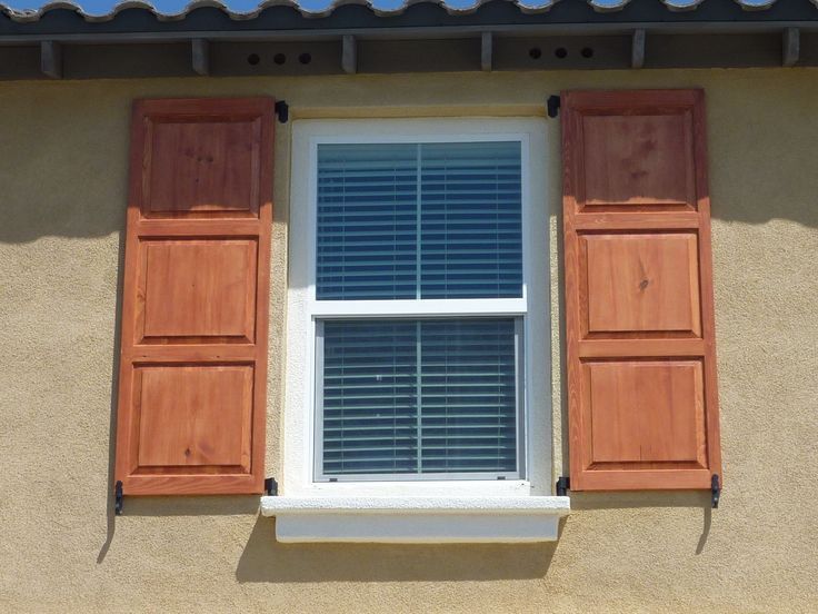 Exterior Window Shutters With Maximum Functional Features    Http://www.amazadesign.