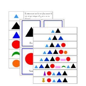 Grammaire Montessori | Boutique Documents Montessori