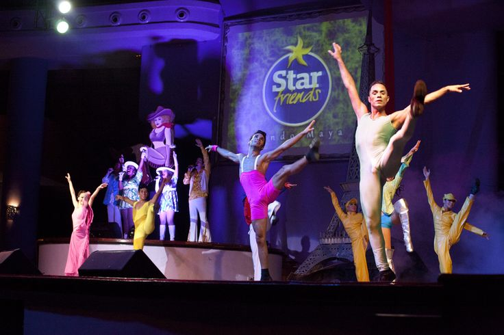 Employees at #Iberostar give it their all to make a perfect show. #StarFriends #dance  #nightlife