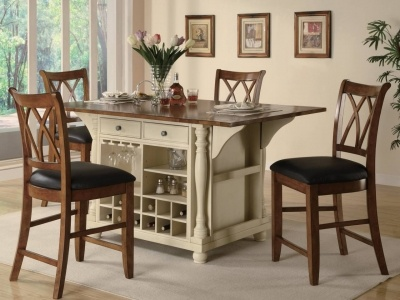 Find This Pin And More On Kitchen Islands Vs. Dining Tables By Vivlett.