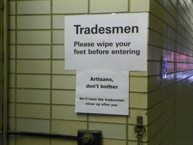 Artisans and Tradesmen Best Sarcastic Responses Ever • Page 3 of 6 • BoredBug