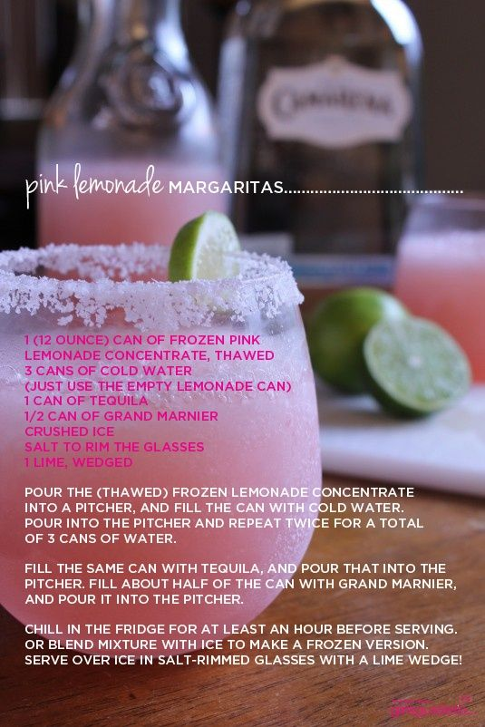 GirlsGuideTo | Thirsty Thursday: Pink Lemonade Margarita | GirlsGuideTo
