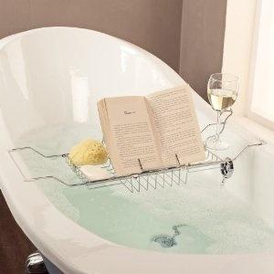 Book And Wine Holder Bath Rack: Amazon.co.uk: Kitchen U0026 Home