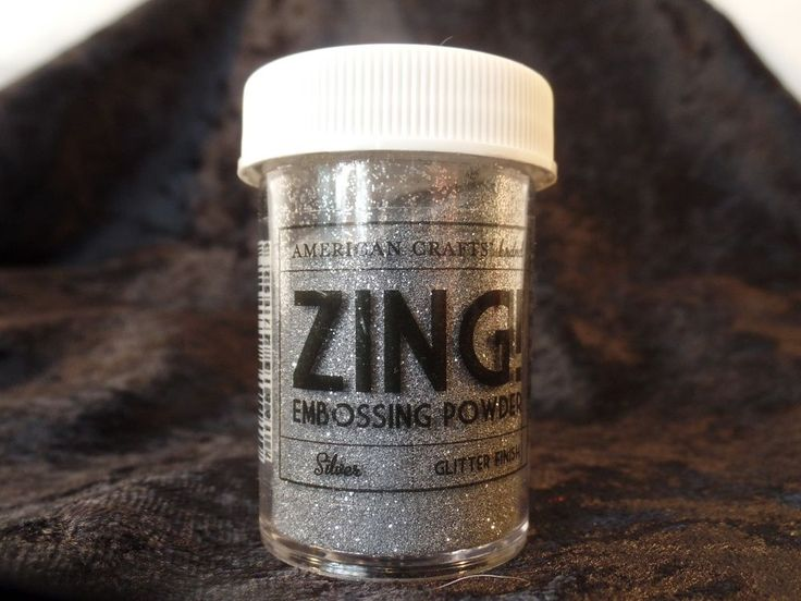 Zing Embossing Powder - Silver #Zing