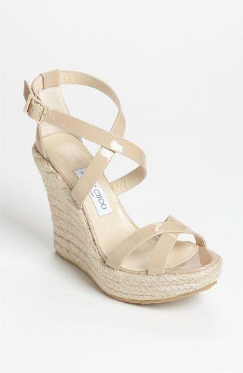 c3834ccfe86 Jimmy Choo  Porto  Wedge Sandal available at Nordstrom  JimmyChoo ...